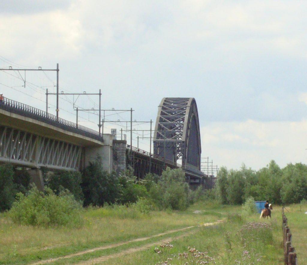 De brug van Oosterbeek in 2010