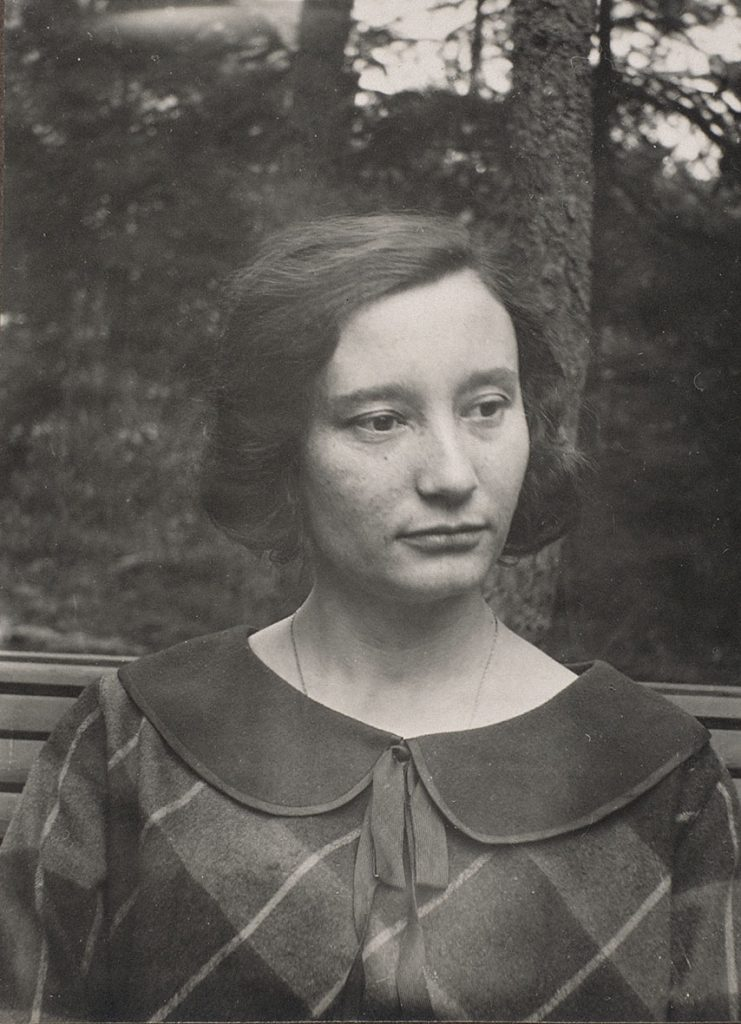 Jetta Escher-Umiker, augustus 1924