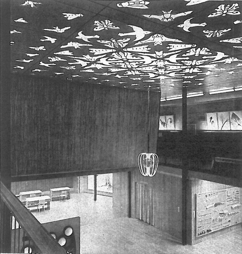 Het Philipsplafond in de originele opstelling