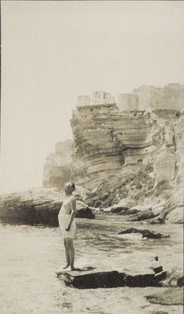 Schoonvader Arturo Umiker bij Bonifacio, 1928