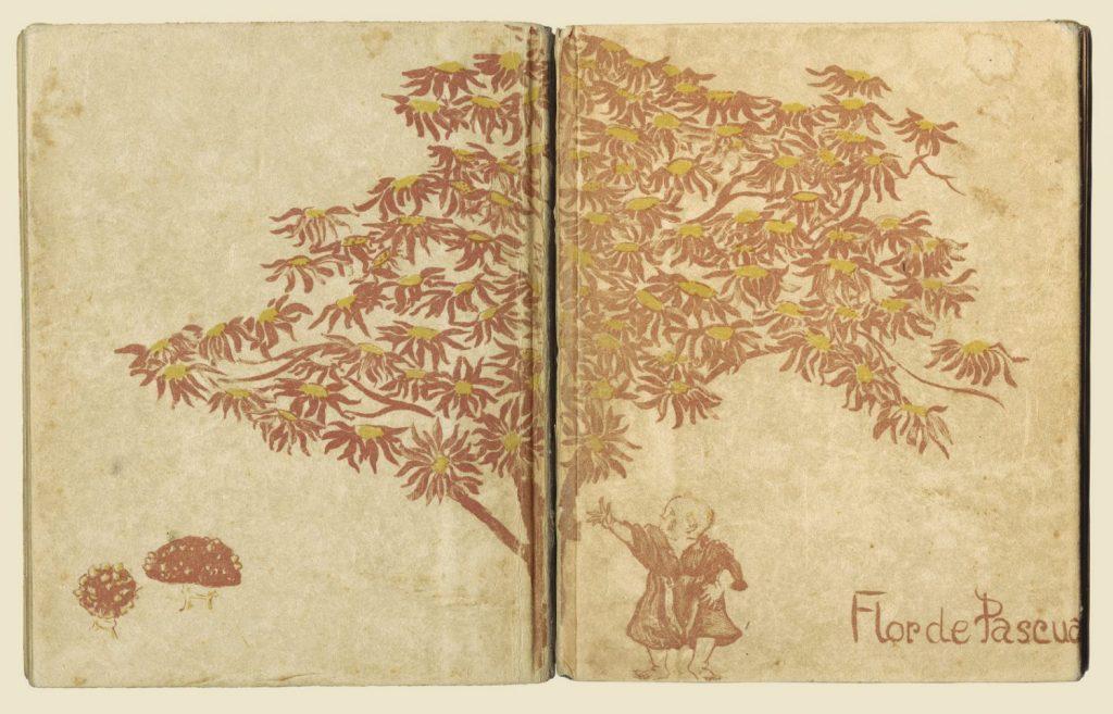 Fiet van Stolk, Omslag voor Flor de Pascua