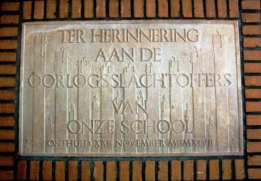 Gedenksteen in Arnhem