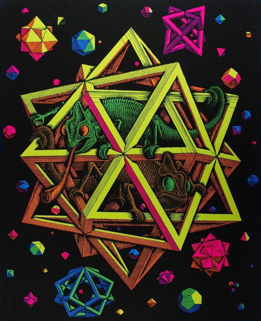 Sterren, psychedelisch
