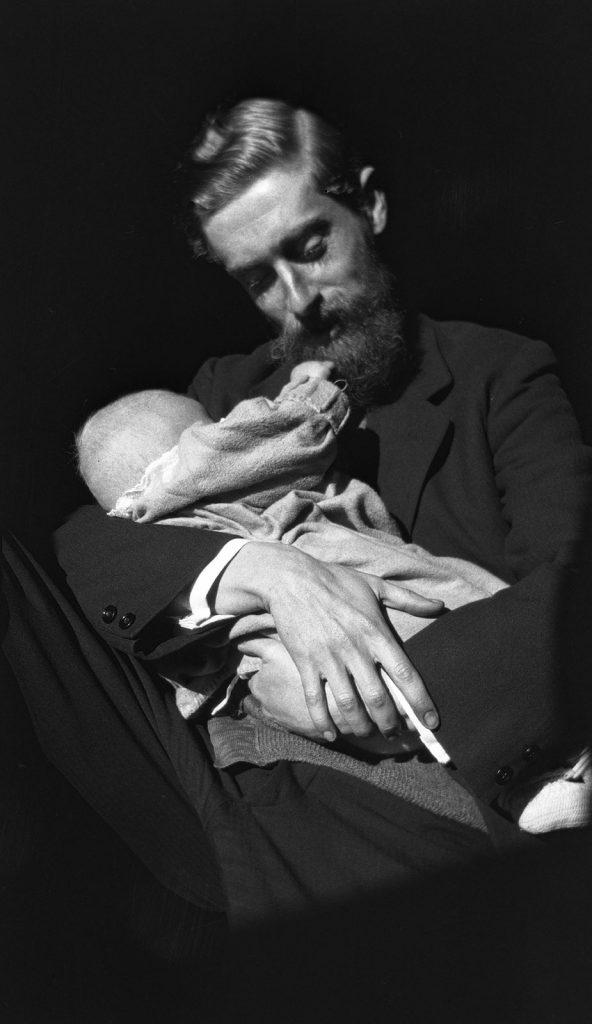 Maurits Cornelis Escher met George Arnold Escher, 29 december 1926