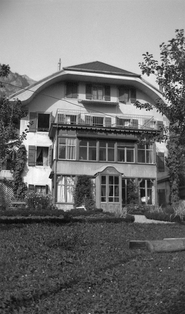 Villa Les Clèmatites, de woning van het gezin Escher in het Zwitserse Château-d'Oex