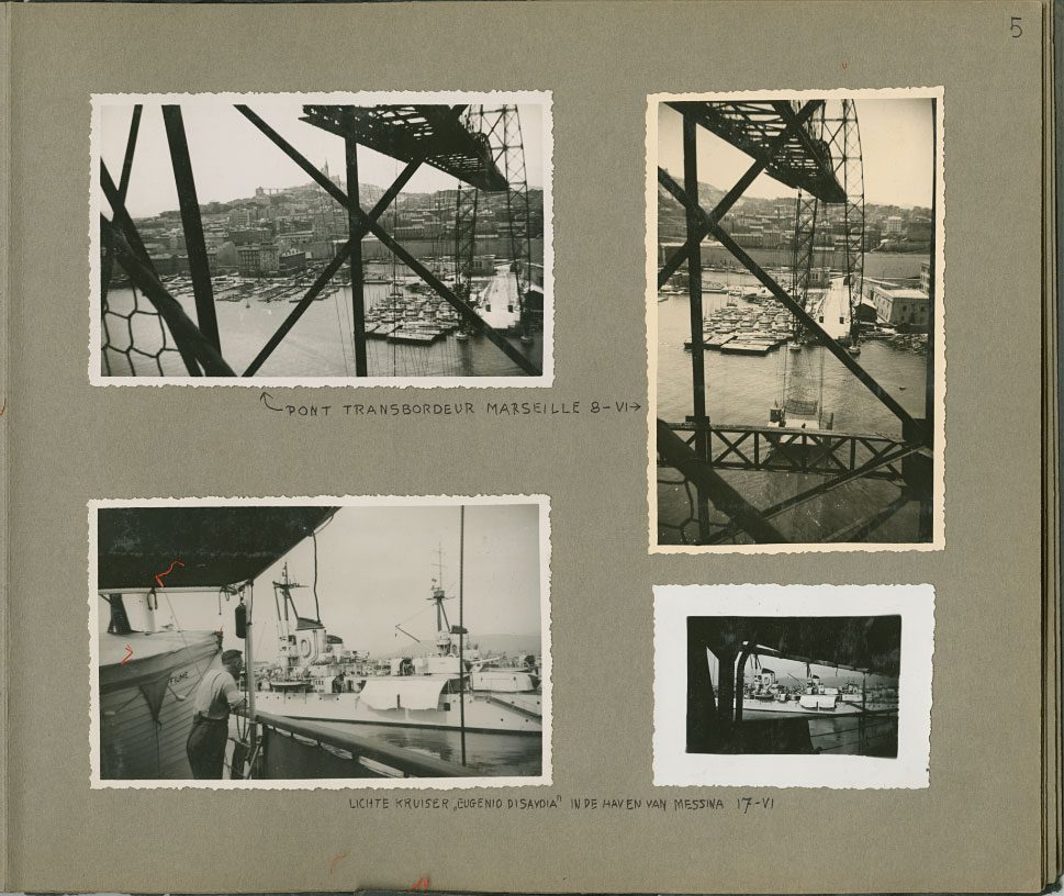 Foto album uit 1936