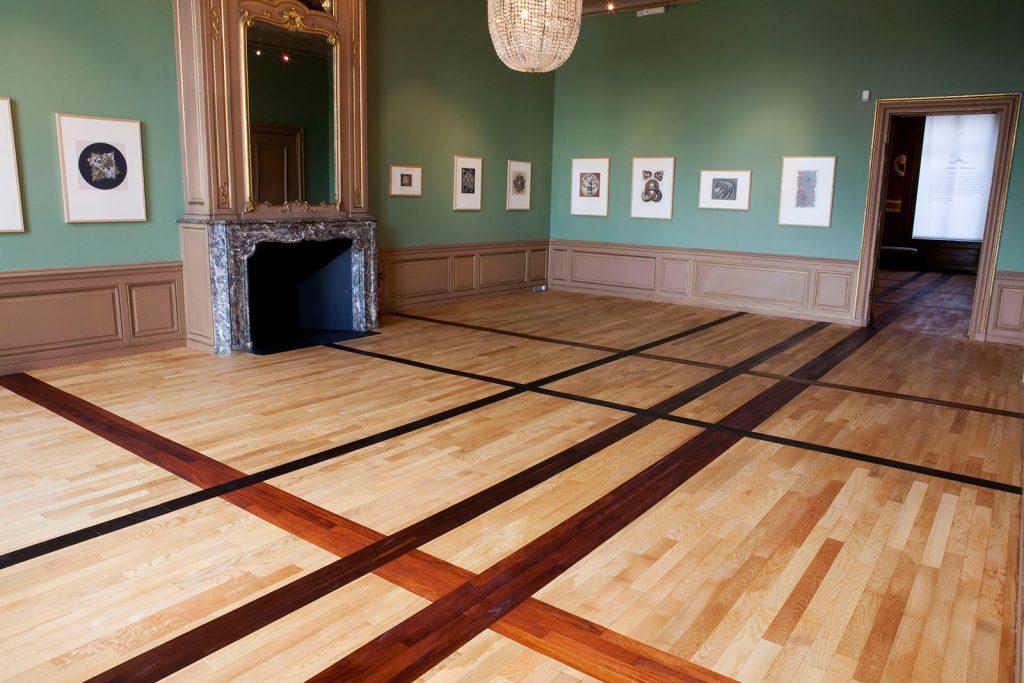 Donald Judd: parketvloer in het paleis