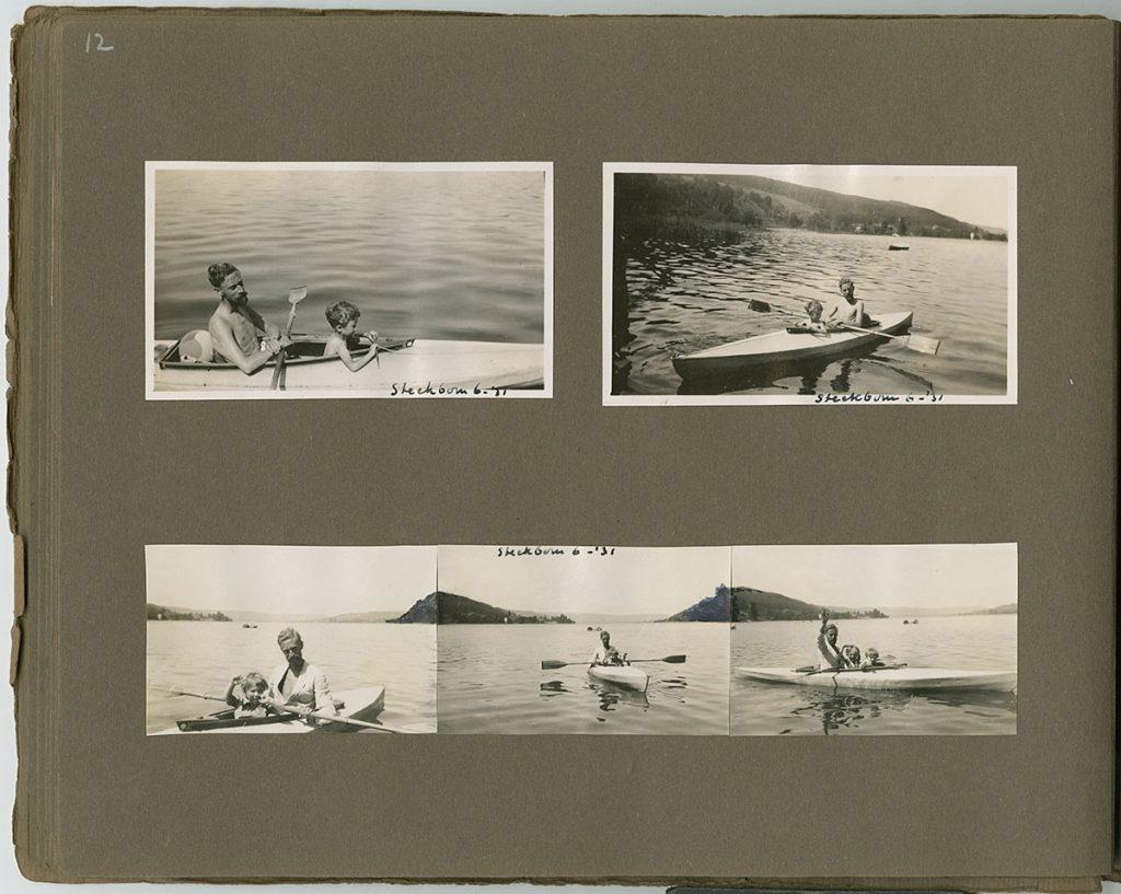 Juni 1931, zomer in Steckborn (pagina uit album M.C. Escher)