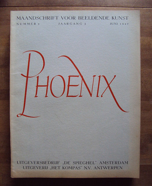 Phoenix, monthly journal of the visual arts, Volume 2, No. 4, June 1947. Photo: Catawiki