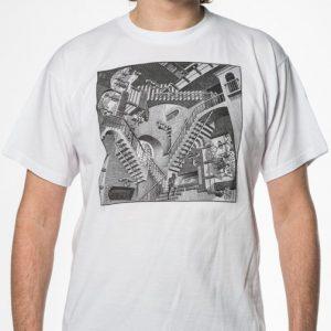 'Relativiteit' t-shirt. wit
