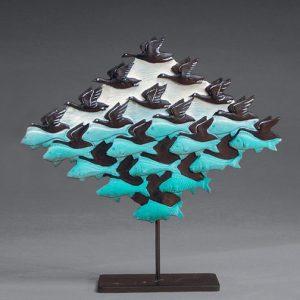 'Lucht en Water I' sculptuur