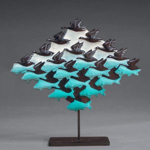 """Sky & Water I"" Sculpture"