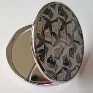 Pocket Mirror, Birds-Fishes