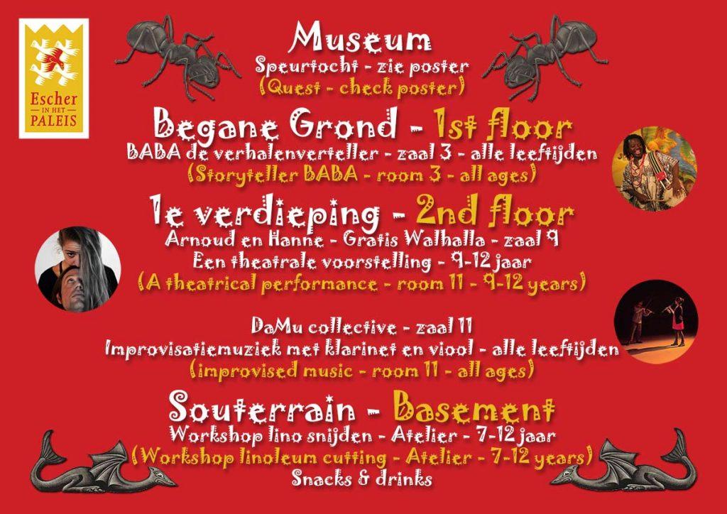 Programma Kindermuseumnacht 2018
