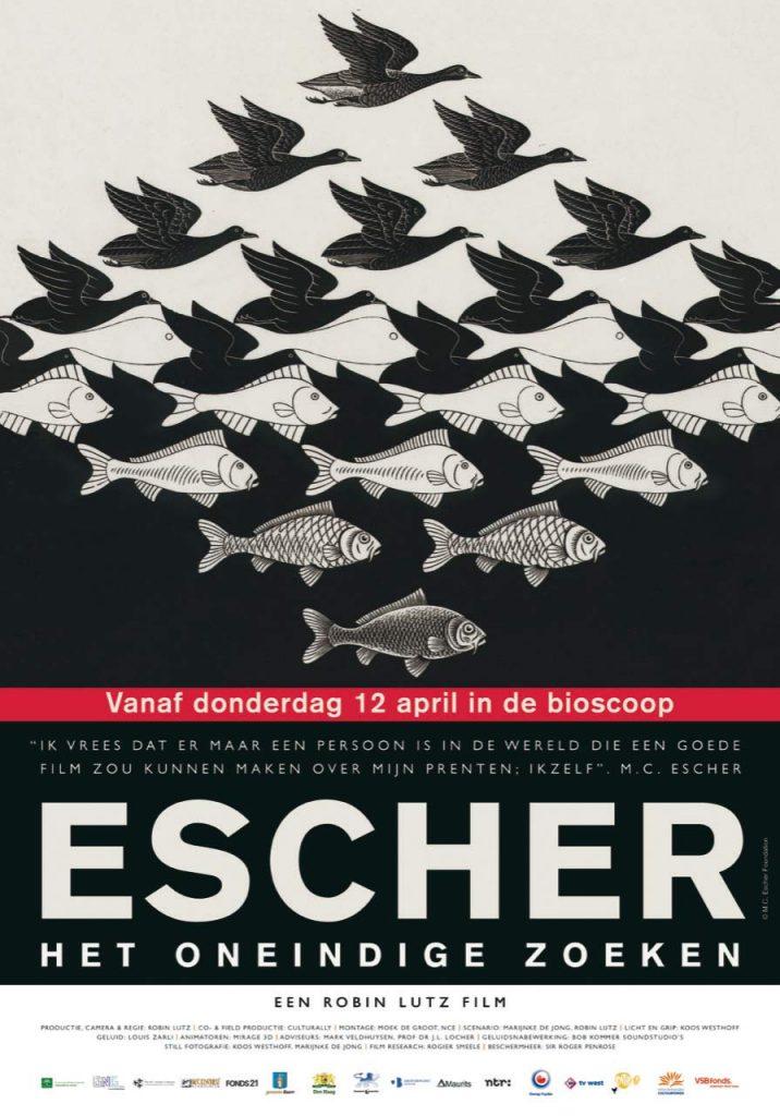Poster Escher film
