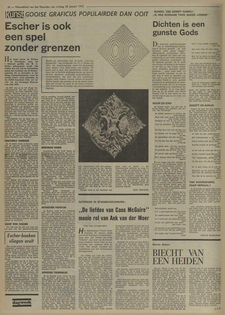 Nieuwsblad van het Noorden, 28 januari 1972