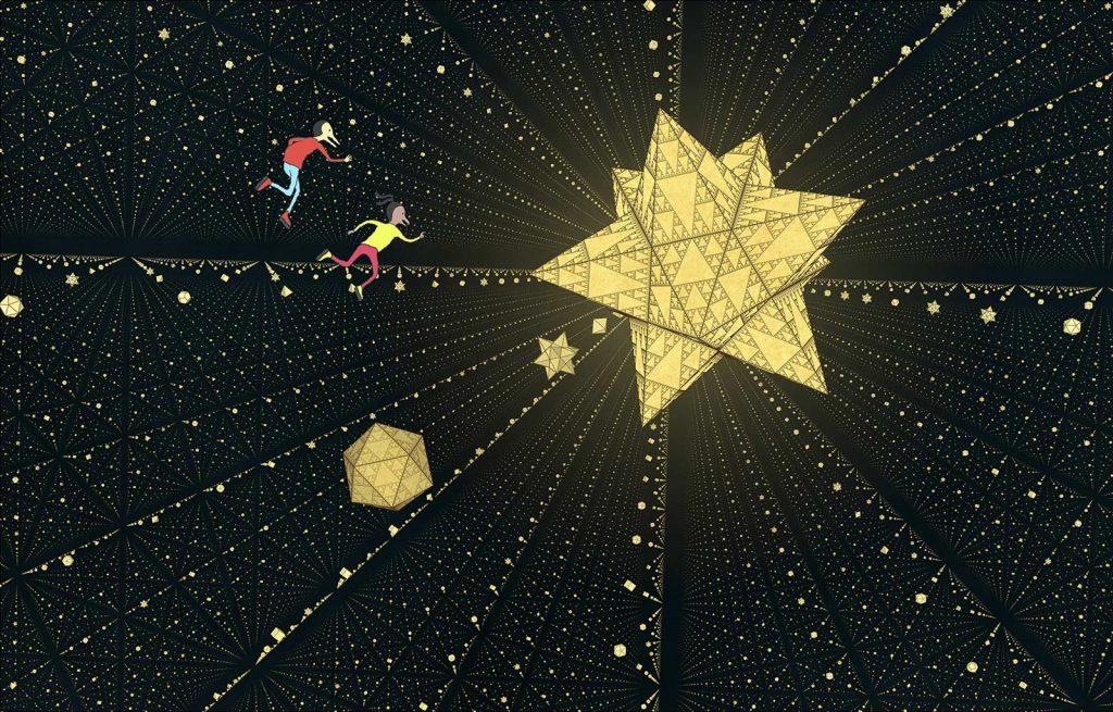 Nadir en Zenith in de wereld van Escher door Wouter van Reek