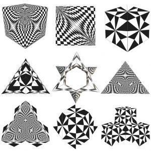 Geobender Abstract, Magnetische 3D puzzle, €29,95