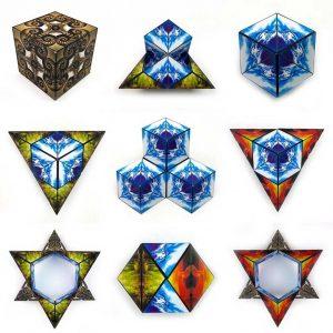 Geobender Nautilus, Magnetische 3D puzzle, €29,95
